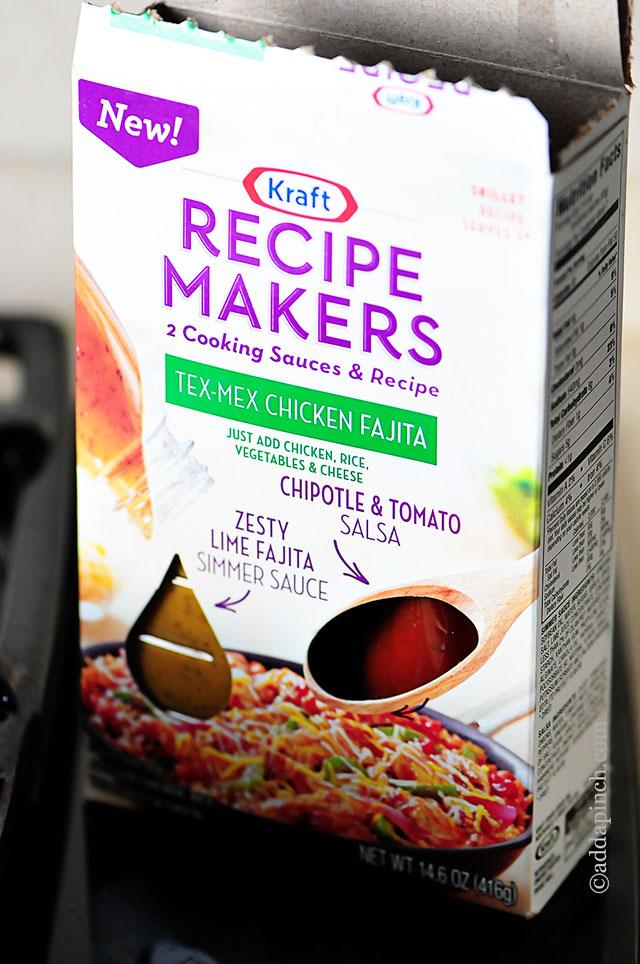 Tex-Mex Chicken Fajitas | ©addapinch.com