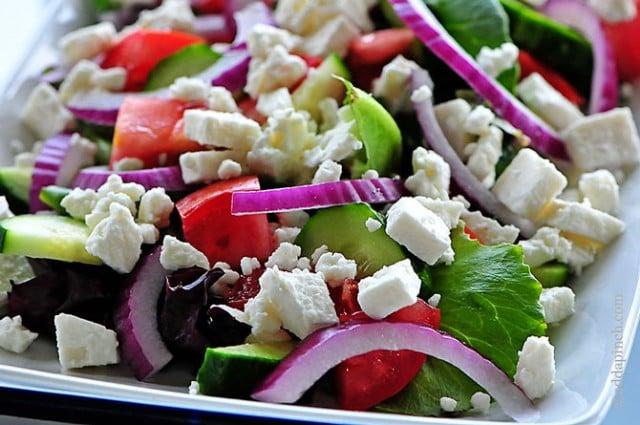 Mediterranean Salad | ©addapinch.com