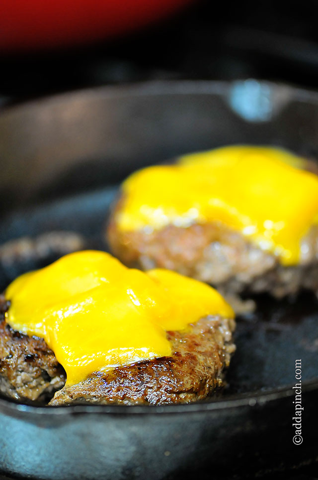 Knowing how to melt cheese perfectly for a cheeseburger, on chicken ...