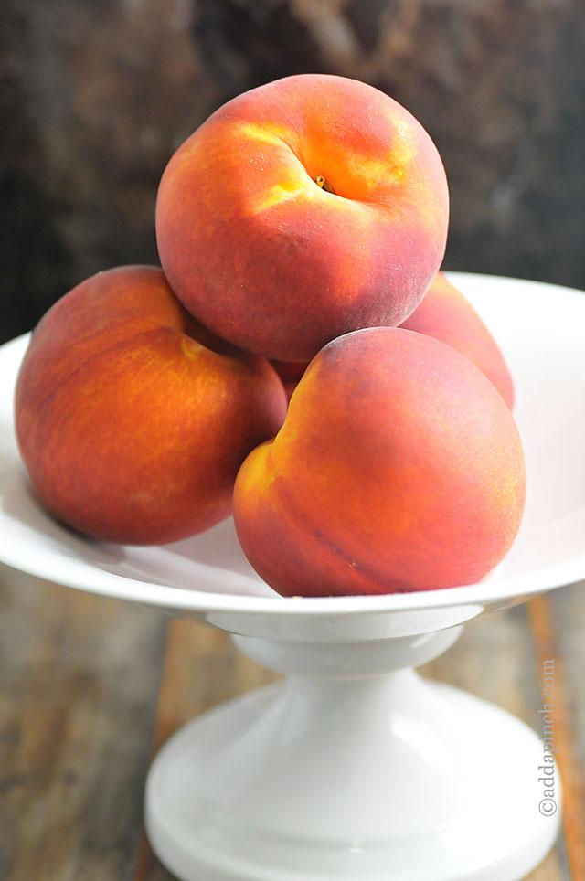 Peach Recipes | ©addapinch.com