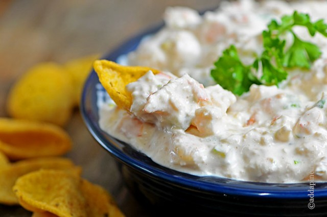 Shrimp Dip Recipe | ©addapinch.com