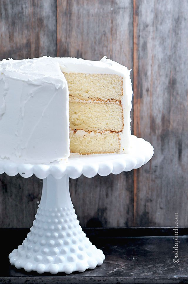 The Best White Cake Recipe Ever Add a Pinch