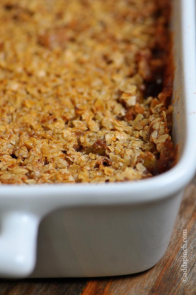 Apple Crisp Recipe | ©addapinch.com