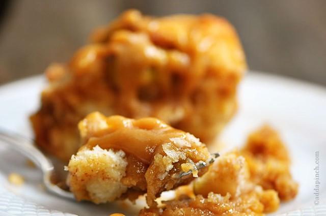 Caramel Apple Biscuit Rolls | ©addapinch.com