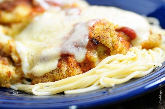 Chicken Parmesan | ©addapinch.com