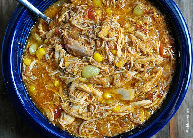 Brunswick Stew Recipe | ©addapinch.com