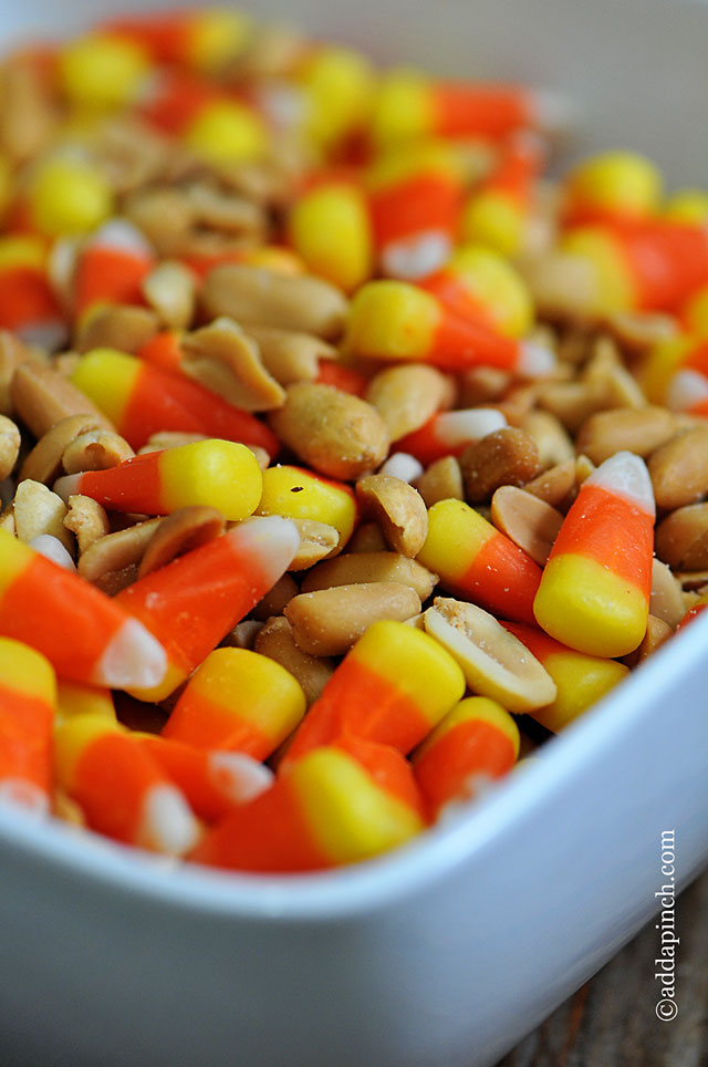 Candy Corn Snack Mix | ©addapinch.com