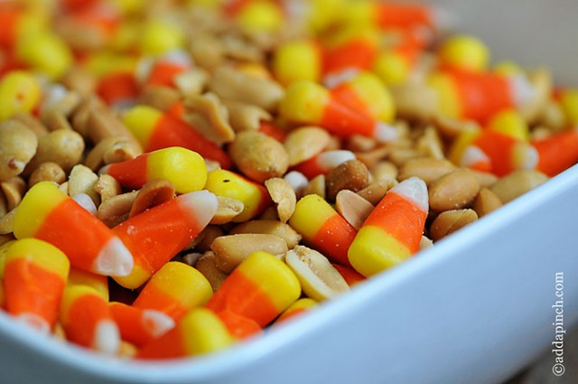 Candy Corn Snack Mix | ©addapinch.com