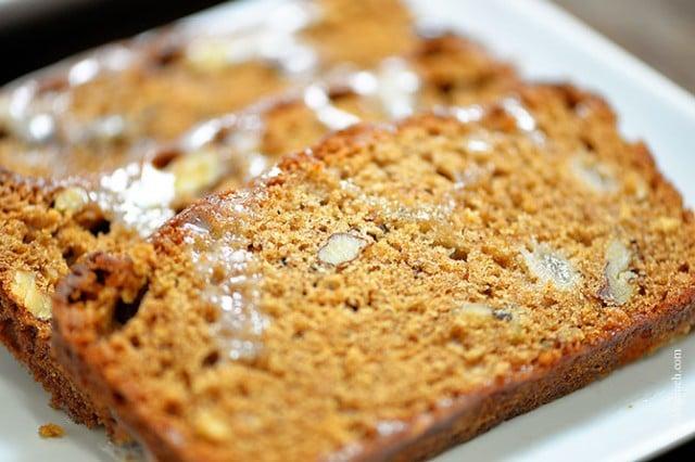 Pear Walnut Bread | ©addapinch.com