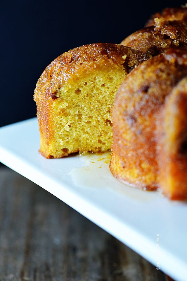 Rum Cake Recipe | ©addapinch.com