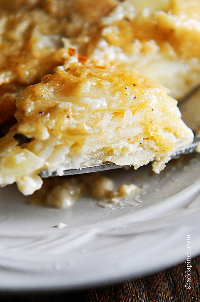 Scalloped Potatoes Recipe - Add a Pinch