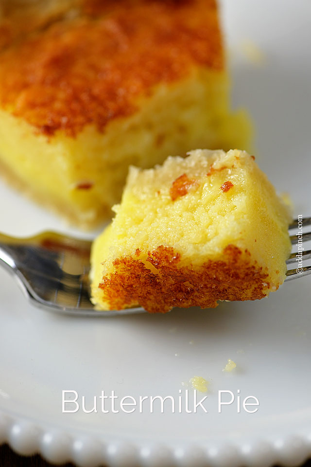 Buttermilk Pie | ©addapinch.com