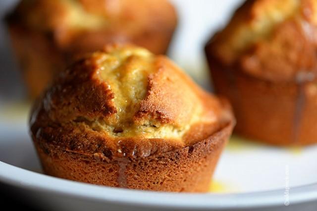 Cranberry Orange Muffins | ©addapinch.com
