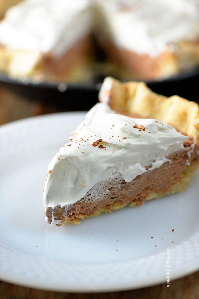 French Silk Pie | ©addapinch.com