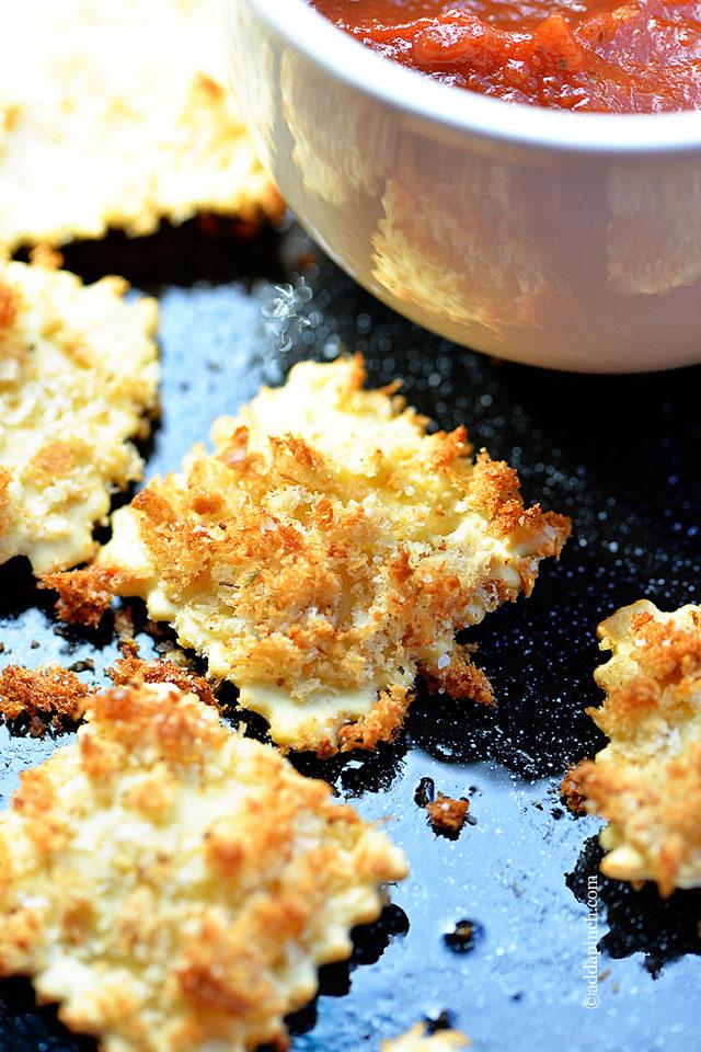 Fried Ravioli | ©addapinch.com