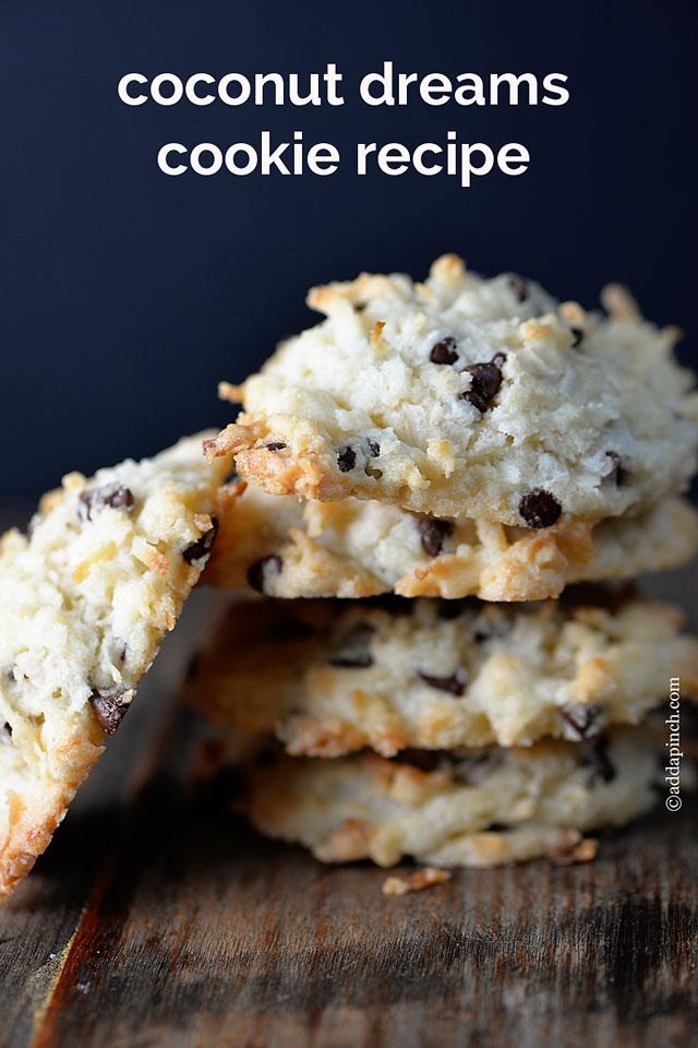 Coconut Dream Cookies Recipe | ©addapinch.com