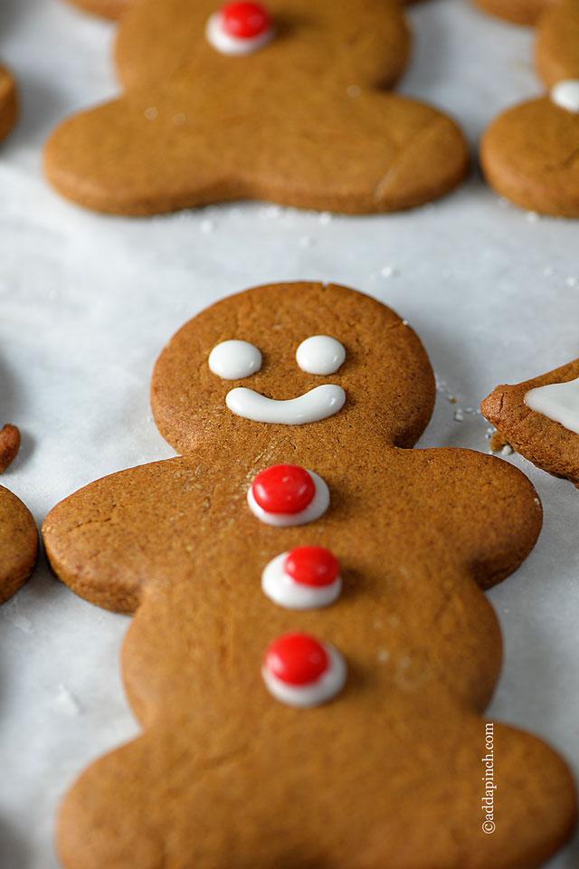 Gingerbread Cookies | ©addapinch.com