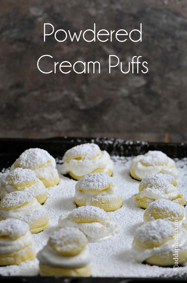 Cream Puffs Recipe   ©addapinch.com