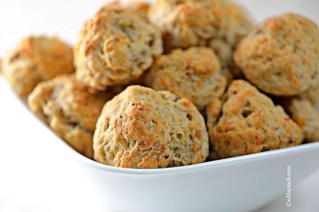 Sausage Balls | ©addapinch.com
