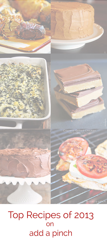 Top Recipes of 2013 | ©addapinch.com