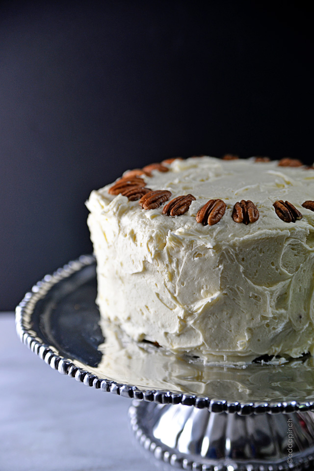 Hummingbird Cake Recipe | ©addapinch.com