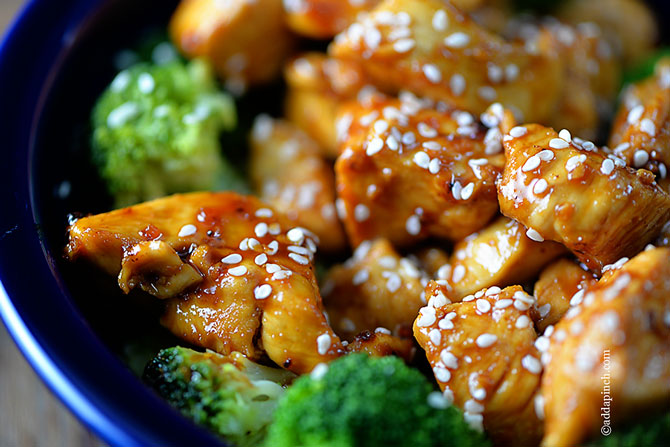 Skinny Orange Chicken Recipe Add A Pinch