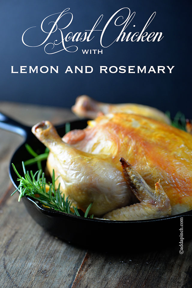 Roast Chicken With Lemon And Rosemary Roast Potatoes ...