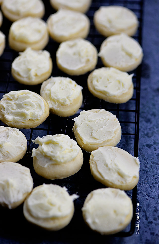 Key Lime Shortbread Cookies Recipe | ©addapinch.com