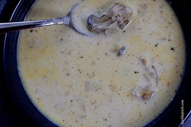 Oyster Stew Recipe - Add a Pinch
