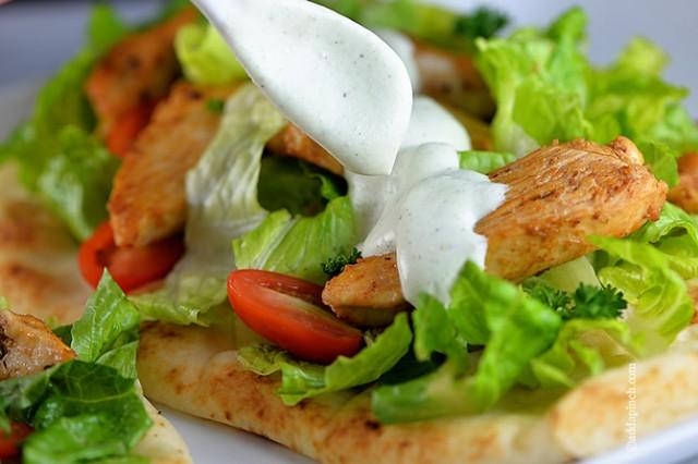 Chicken Souvlaki Recipe | ©addapinch.com