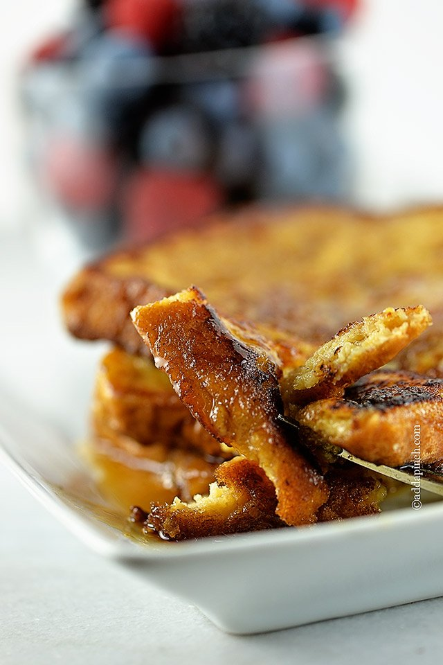 Perfect French Toast Recipe - Add a Pinch