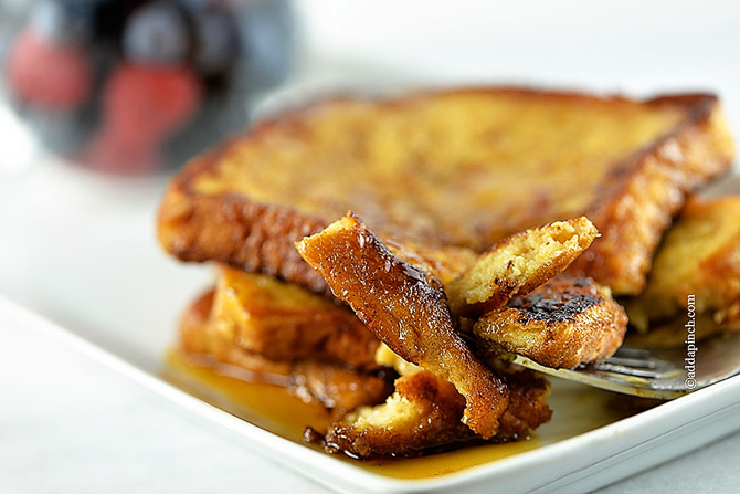 Here's my Perfect French Toast Recipe. I think you'll love it.