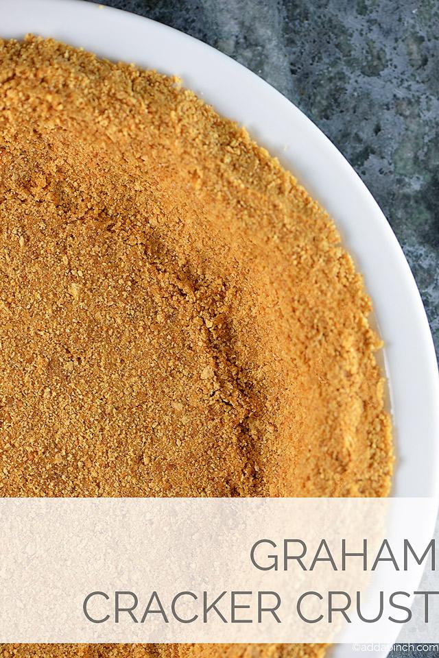 Graham Cracker Crust | ©addapinch.com