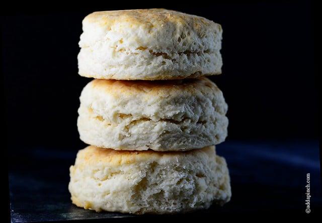 Cream Biscuit Recipe | ©addapinch.com