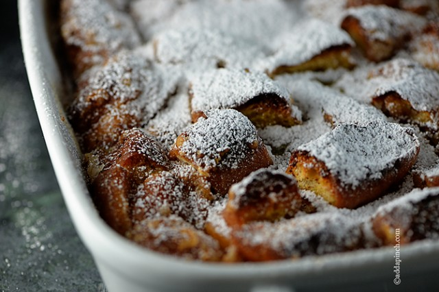Bread Pudding from addapinch.com