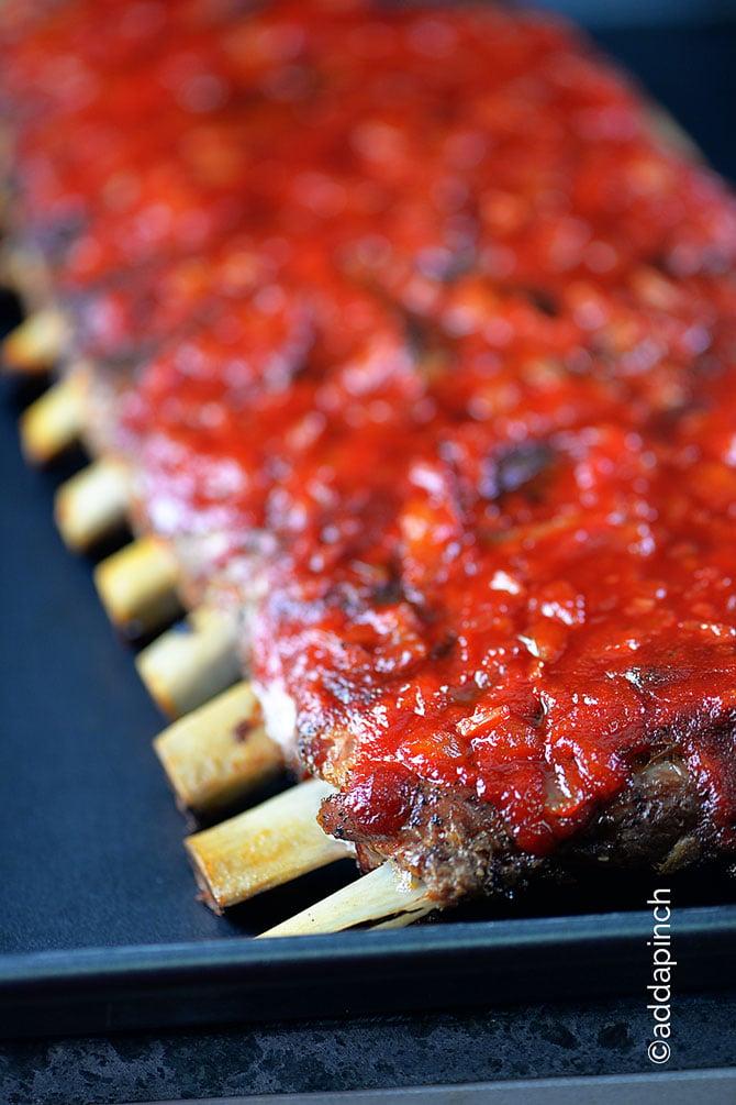 BBQ RIbs from addapinch.com