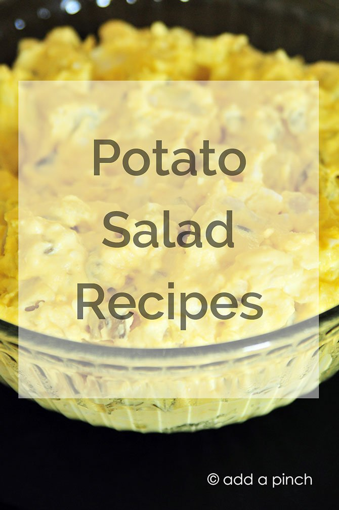 Potato Salad Recipes from addapinch.com