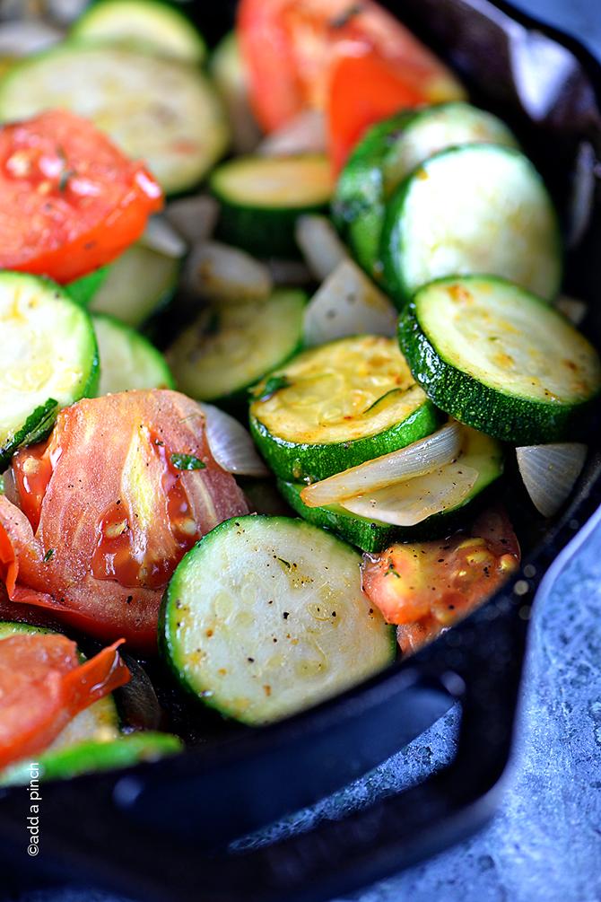 Skillet Zucchini Recipe Add A Pinch