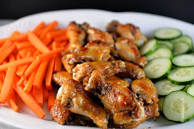 Chicken Wings Recipe from addapinch.com