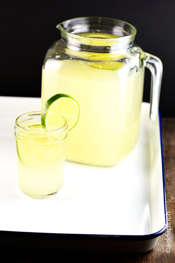 Limeade Recipe from addapinch.com