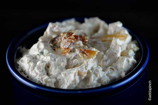 French Onion Dip Recipe from addapinch.com