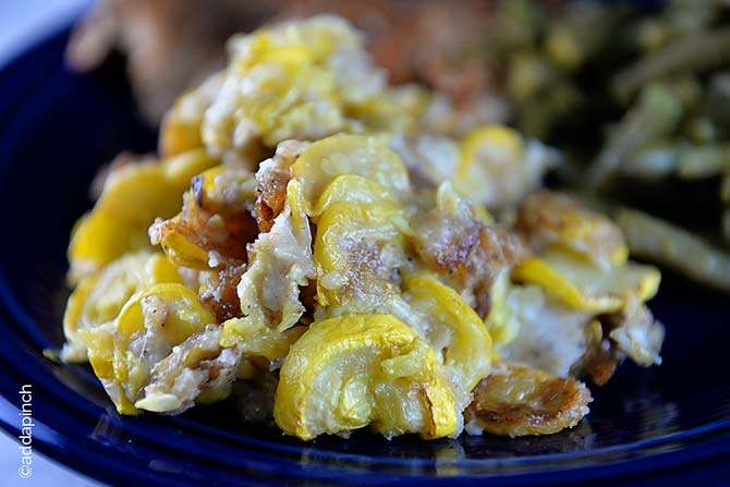 Southern Fried Squash Recipe from addapinch.com