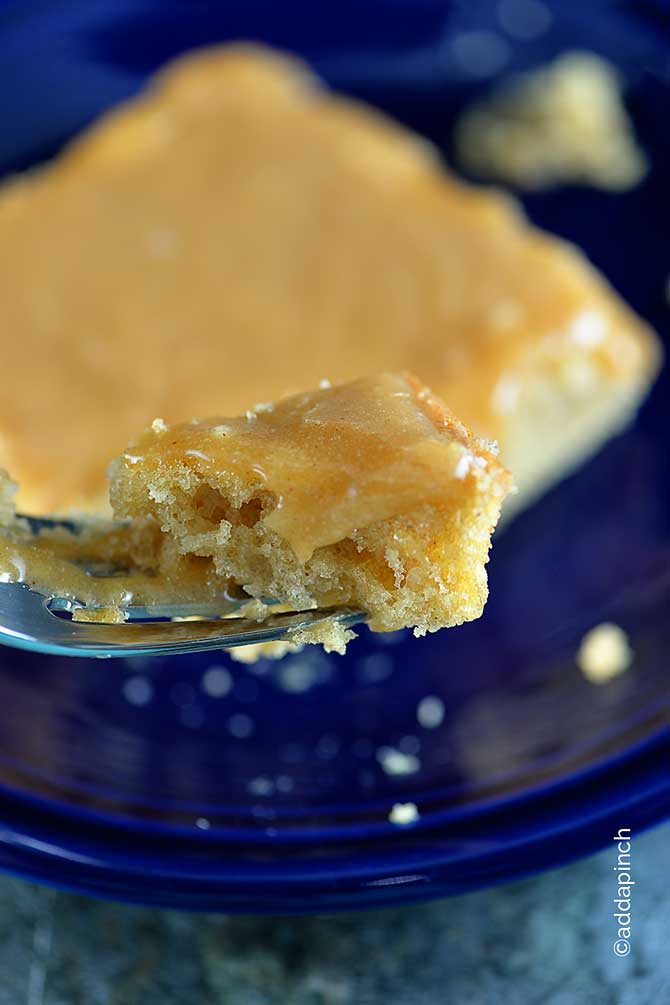 Peanut Butter Cake Recipe from addapinch.com