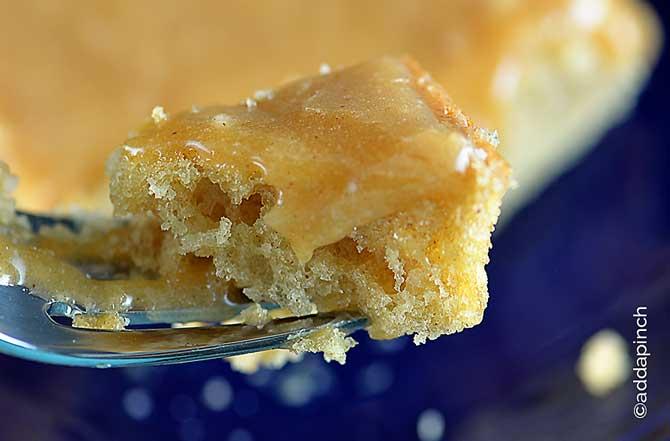 Peanut Butter Cake Recipe from addapinch.com