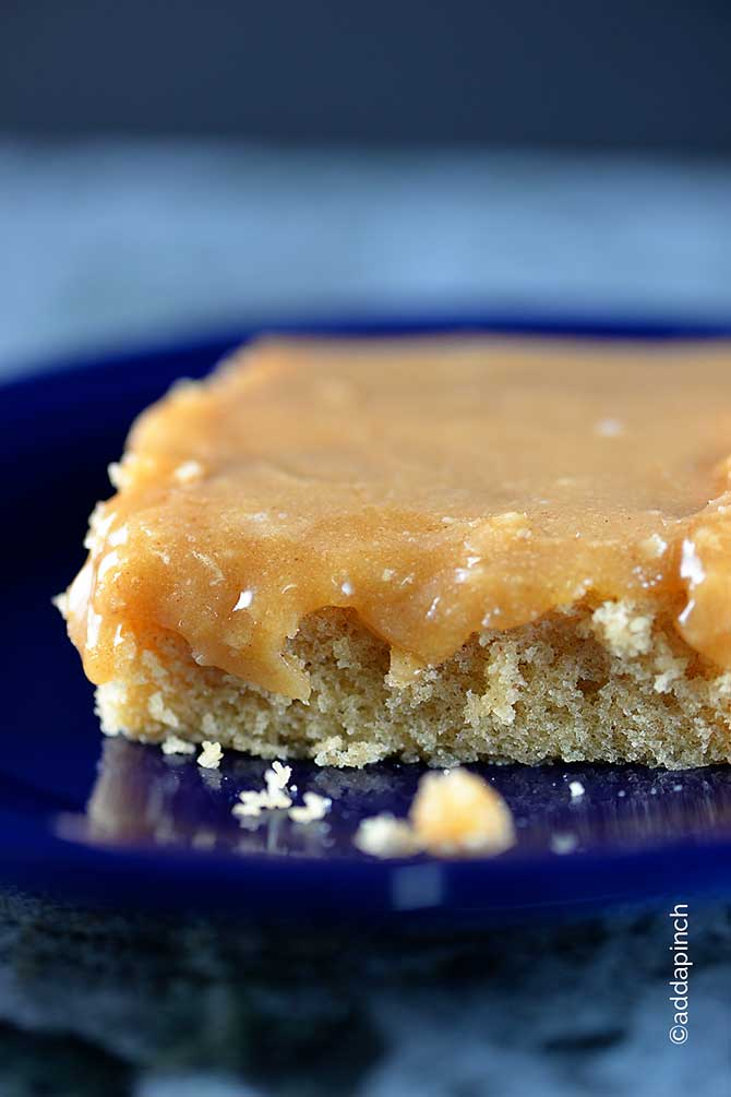Peanut Butter Icing Recipe from addapinch.com