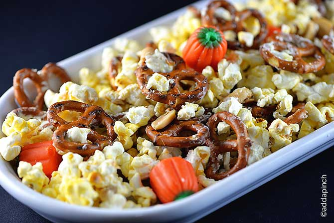 Halloween Snack Mix Recipe - Add a Pinch