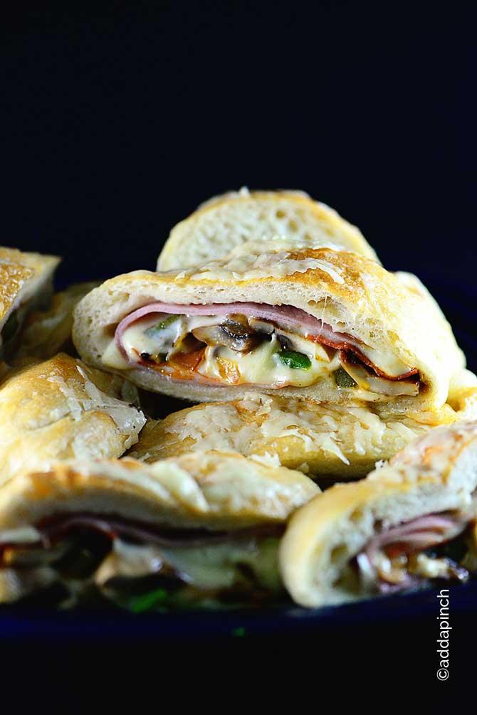 Stromboli Recipe from addapinch.com