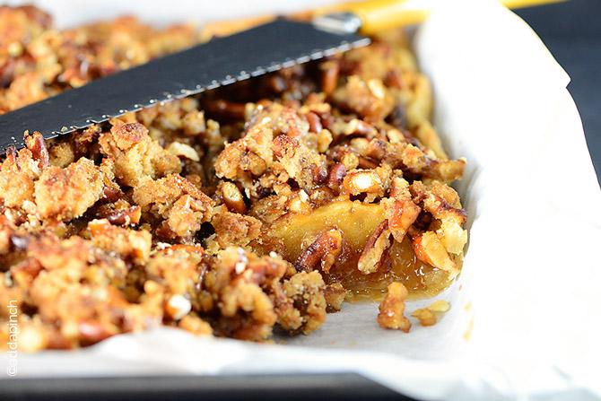 Caramel apple slab pie recipe add a pinch - Better homes and gardens apple pie recipe ...