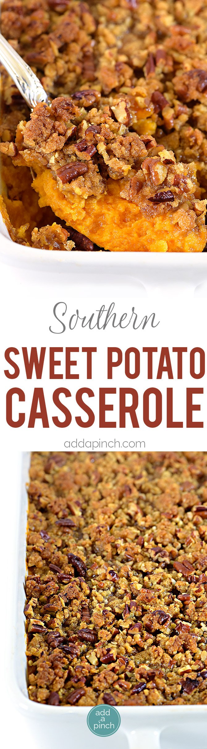 Southern Sweet Potato Casserole Cooking Add A Pinch