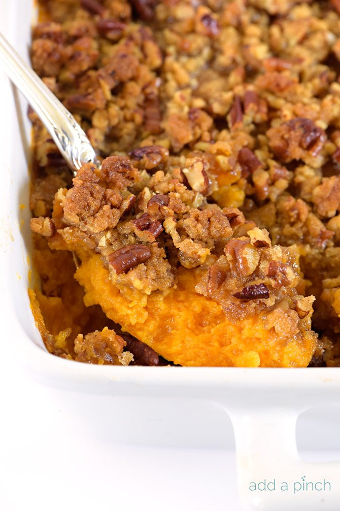 Sweet Potato Casserole is a southern classic. With a rich, buttery ...